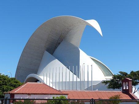 Auditorio De Tenerife, Auditorium Of Tenerife, Hall