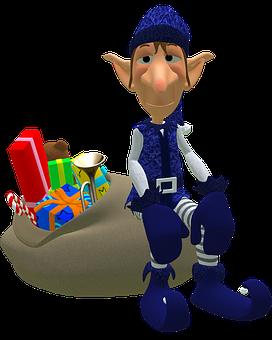 Eleven, Tube, Bag, Gifts, Christmas, Jute Bag, Gift Bag