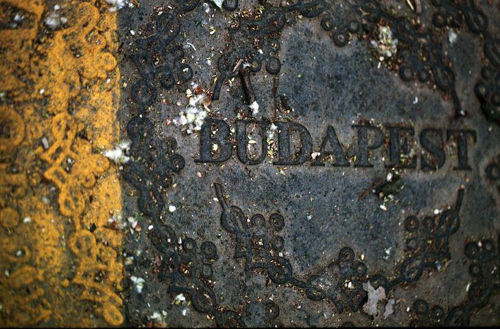 Budapest, Drain Cover, Manhole, Cap, Circle, City