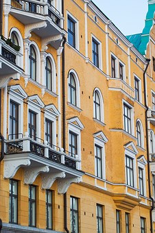 Jugend, Helsinki, Building, Architecture, Finland, Area