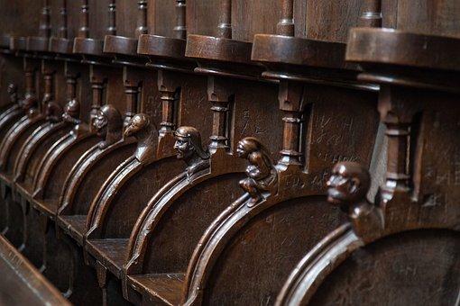 Choir Stalls, Religion, Christianity, Church, Esslingen