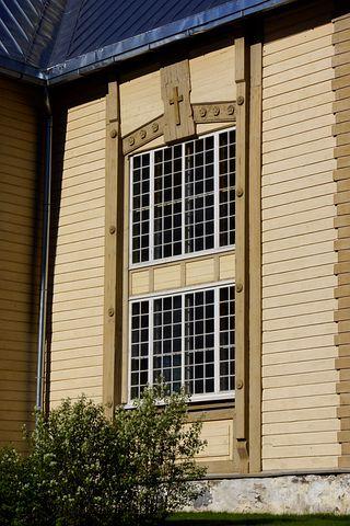 Window, Church Window, Small Paned Window