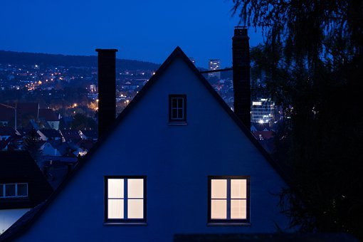 Dawn, Home, 2 Window, Apartment, Enlightened, Light