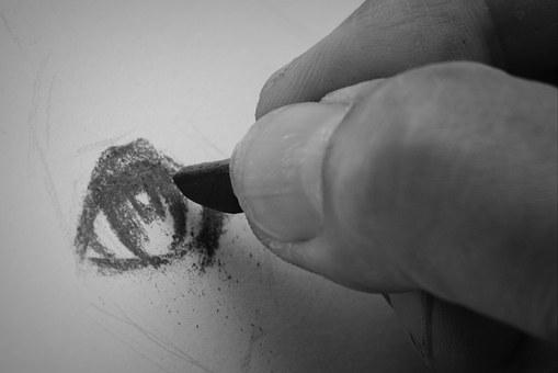 Drawing, Signs, Hand, Art, Work Of Art, Eye