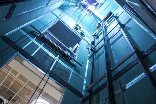 Elevator, Shaft, Construction, Lift, Architecture