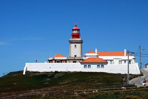 Lighthouse, Cabo Da Roca, Portugal, West, Europe