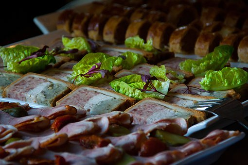 Buffet, Food, Dinner, Food Platter, Meat, Salad