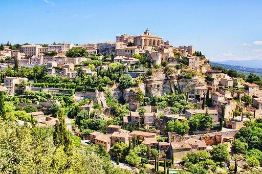 France, Provence, Sault, Village, Nature