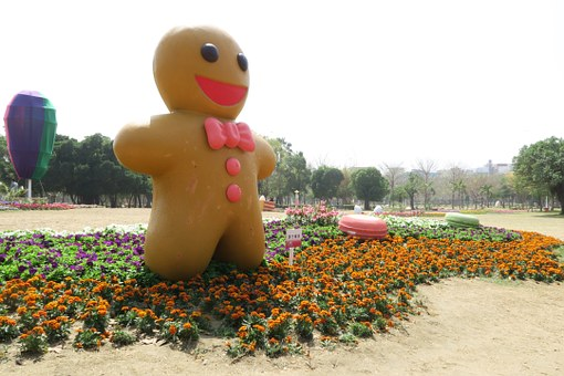 Tainan's Flowers Offering, Ginger 餅 People
