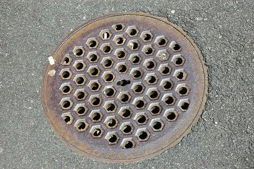 Gulli, Gullideckel, Manhole Cover, Manhole Covers