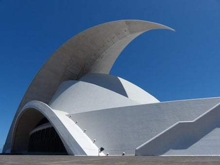 Auditorio De Tenerife, Auditorium Of Tenerife, Hall