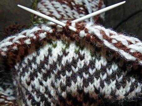 Strikketøy, Knit, Hand Work, Knitting Needles, Pattern