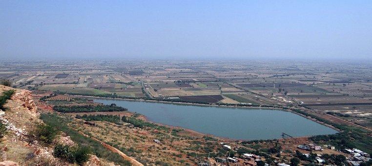 Settlement, Landscape, Irrigation Tank