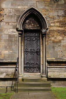 Door, Portal, Middle Ages, Medieval, Architecture