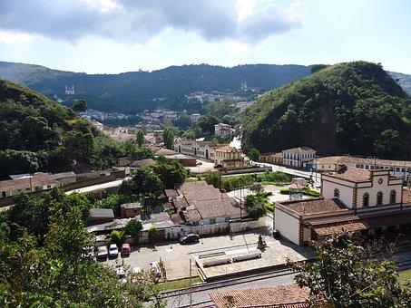 Ouro Preto, Minas Gerais, Brazil, Brasil, Colonial