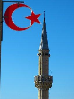 Minaret, Mosque, House Of Prayer, Prayer Storm