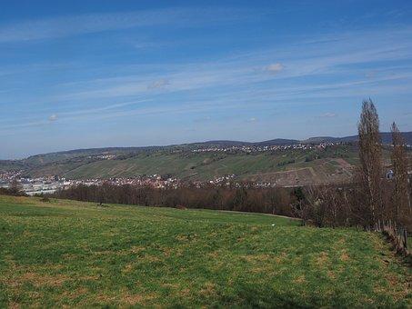 View, Landscape, Outlook, Vineyards, Swabian Alb