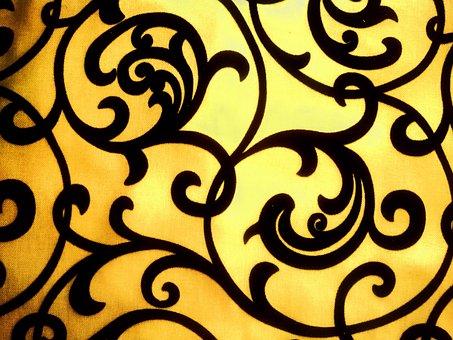 Texture, Pattern, Beautiful, Bright, Fabric, Photo