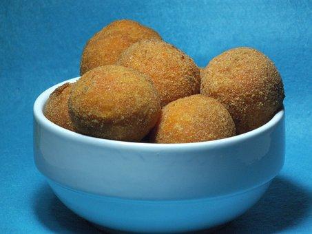 Italian Food, Crocchette Di Patate, Potato Croquettes