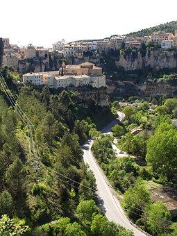Basin, Spain, Nature, Sickle, City, Panoramic, View