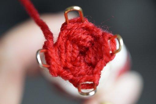 Strickliesel, Hand Labor, Wool, Cat's Cradle, Knit