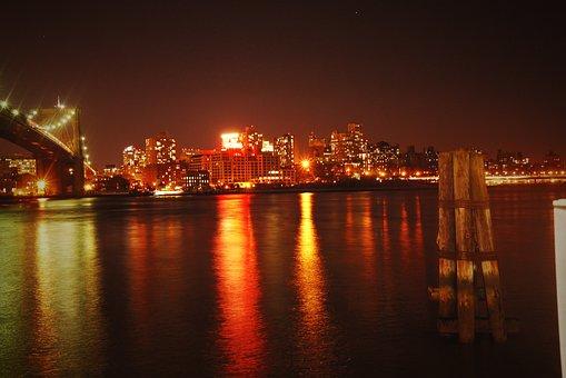 Wayne Rooney Brooklyn Bridge, New York, Night View
