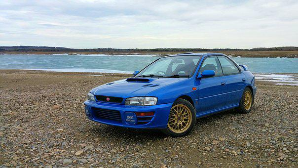 Wrx, Sti, Rally, Sports Car, Subaru, Jdm, Speed, Lake