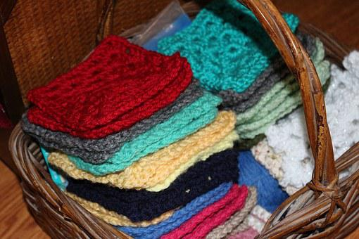 Yarn, Crochet, Crocheted, Craft, Hobby, Colored