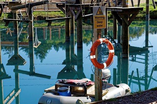 Deep Water, Adventure Park, Water Sports, Water