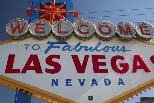 Sign, Las Vegas, City, Welcome, Usa, Nevada