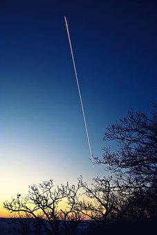 Sunrise, Clear Morning, Morning, Sky, Clear, Blue
