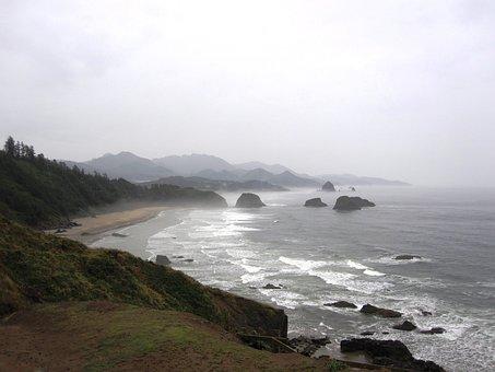 Oregon, Coast, Ecola State Park, Usa