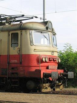 Railway, Locomotive, Electric Locomotive, Train, Putim