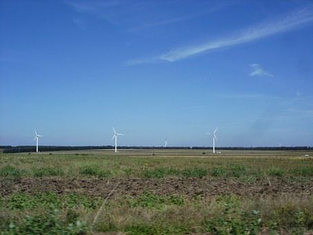 Wind Farm, Electricity, Wind Turbines, Energy, Power