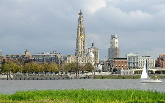 Antwerp, Conducted By Tower, Farmers Tower, Schelde
