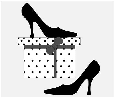 Shoes, Black, Fashion, Footwear, White, Pair, Wear