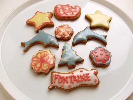Cake, Suites, Food, Sugar, Baked Goods, Cookies