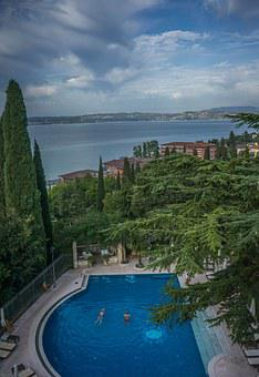 Lake Garda, Italy, Europe, Travel, Tourism, Water