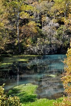 Lake, Pond, River, Water, Landscape, Fall, Outdoor