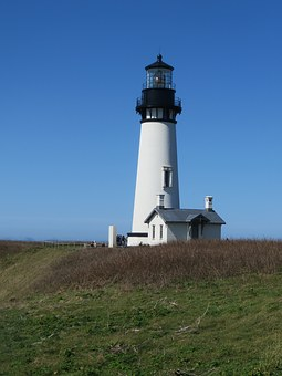 Lighthouse, Oregon, Coast, Pacific, Ocean, Scenic