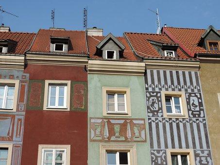 Old House, Poznan, Architecture, Facade, Poland
