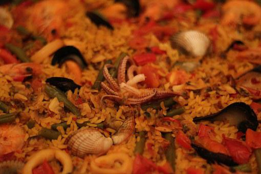 Mussels, Rice, Seafood, Paella, Kitchen, Flour, Dinner