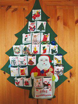 Advent Calendar, 24 Bags, Anticipation, Sweet