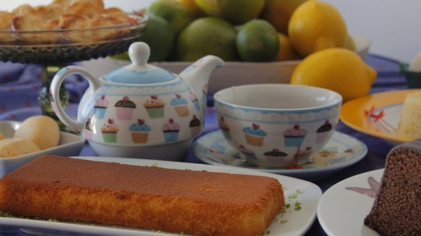 Cakes, Snacks, Tea Cups, Sweets, Desserts, Fruits