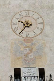Watch, Dial, Roman Numbers, Now, Time, Bergamo