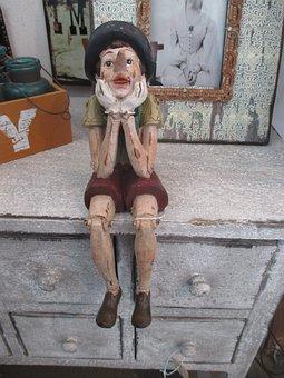 Wood Doll, Melancholy, Perplexity, Dreams