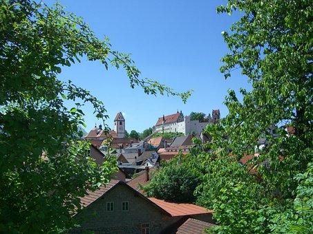 Füssen, St Mang Church, High Castle, Allgäu
