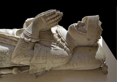 Tomb, Sculpture, Monument, Anne De Montmorency, Paris