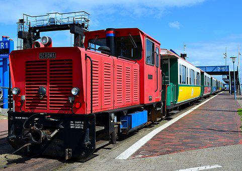 Small Ground, Island Railway, Loco, Borkum