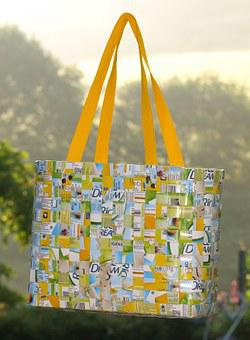 Bag, Hand Labor, Woven, Braid, Wattle, Decorative